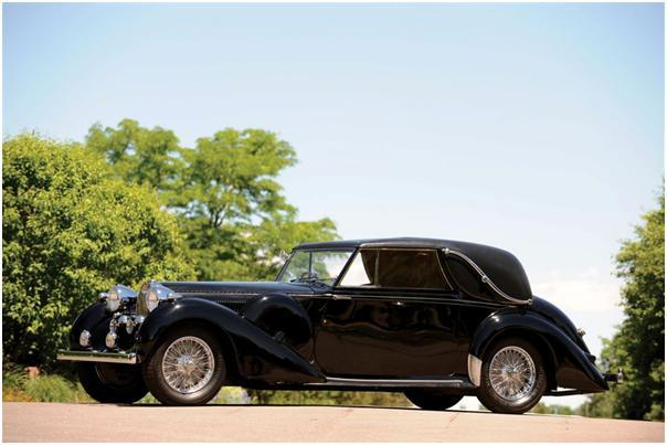 1939 Bugatti Type 57C Faux Cabriolet