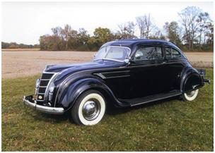 1935 Chrysler C-1 Airflow Eight Coupe