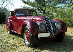 1937 BMW 328 Cabriolet