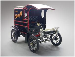 1904 Oldsmobile Model R Curved Dash