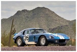 1965 Shelby Daytona Cobra Coupe Could Break Auction Record