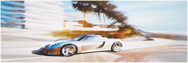 AFAS Artist Jay Koka at Amelia Island Concours