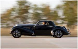 1937 Bentley 4 1/4 Liter Fixed Head Sport Coupe