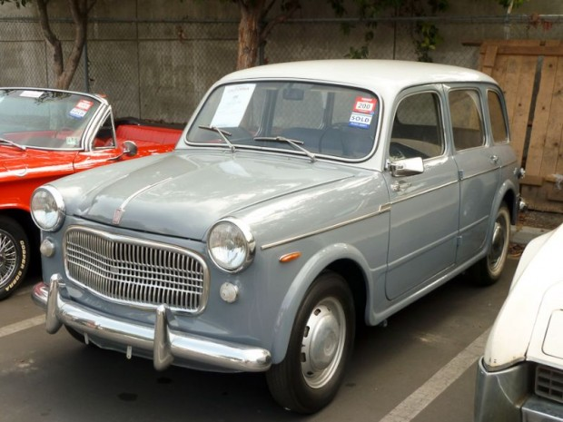 1960 Fiat 1100 4-Dr. Station Wagon