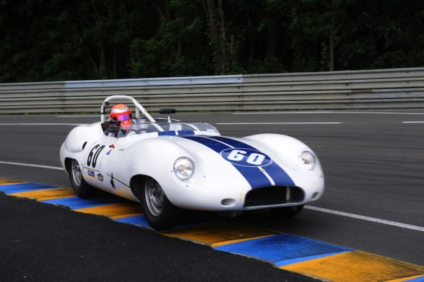Alex Bumbombe was tough to match in his 1959 Lister Costin