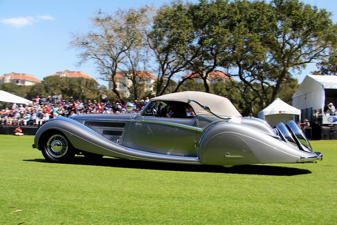 European Custom Coachwork, 1937 Horch 853 Voll and Ruhrbeck Sport Cabriolet, Bob and Anne Brockinton Lee – Sparks, NV