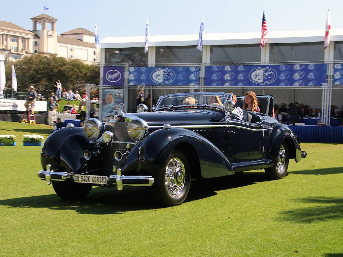 Amelia island concours 2014 best in class winners photo for 1946 mercedes benz