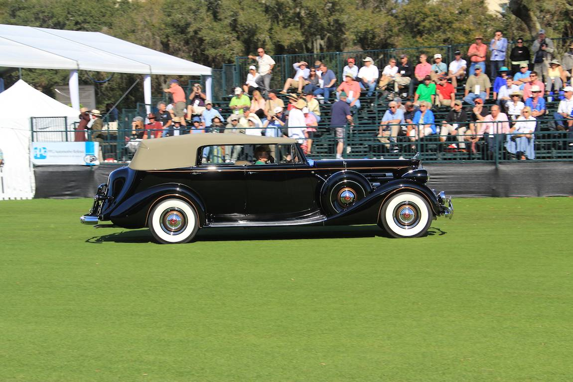 Special Display, 1934 Packard Runabout Speedster, Craig A. Kappel - Chatham, MA