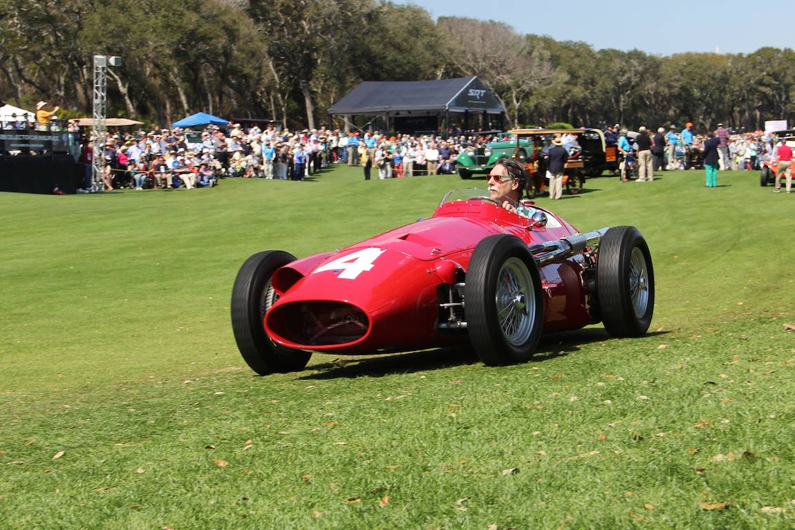 100th Anniversary of Maserati Race, 1955 Maserati 250F, Linda and Bill Pope - Paradise Valley, AZ