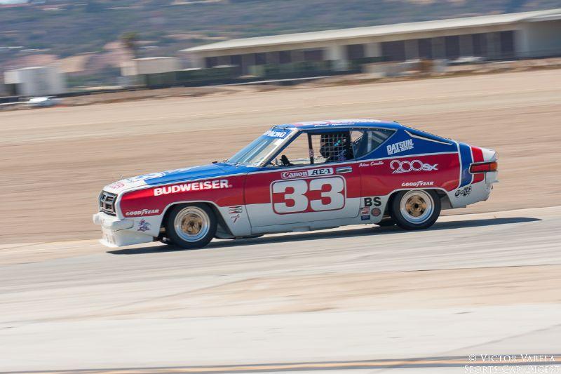 Comedian Adam Carolla drives the ex-Paul Newman 1977 Datsun 200SX.