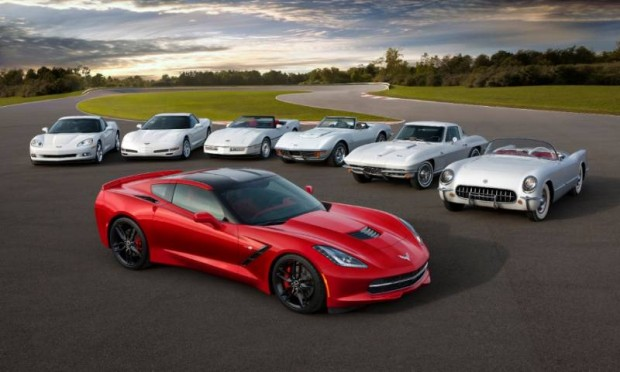 The seventh-generation Chevrolet Corvette