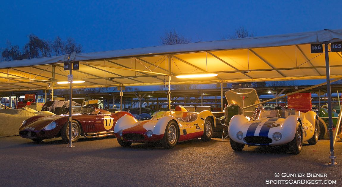 Maserati Magic at the 2014 Goodwood Members' Meeting