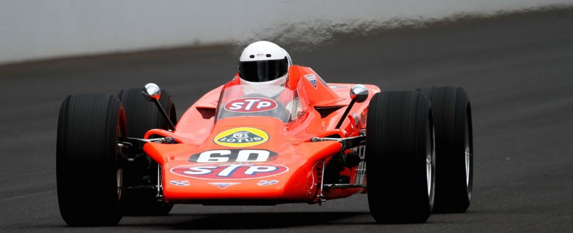 Bruce Linsmeyer, 68 Lotus 56 Turbine Indy Car.