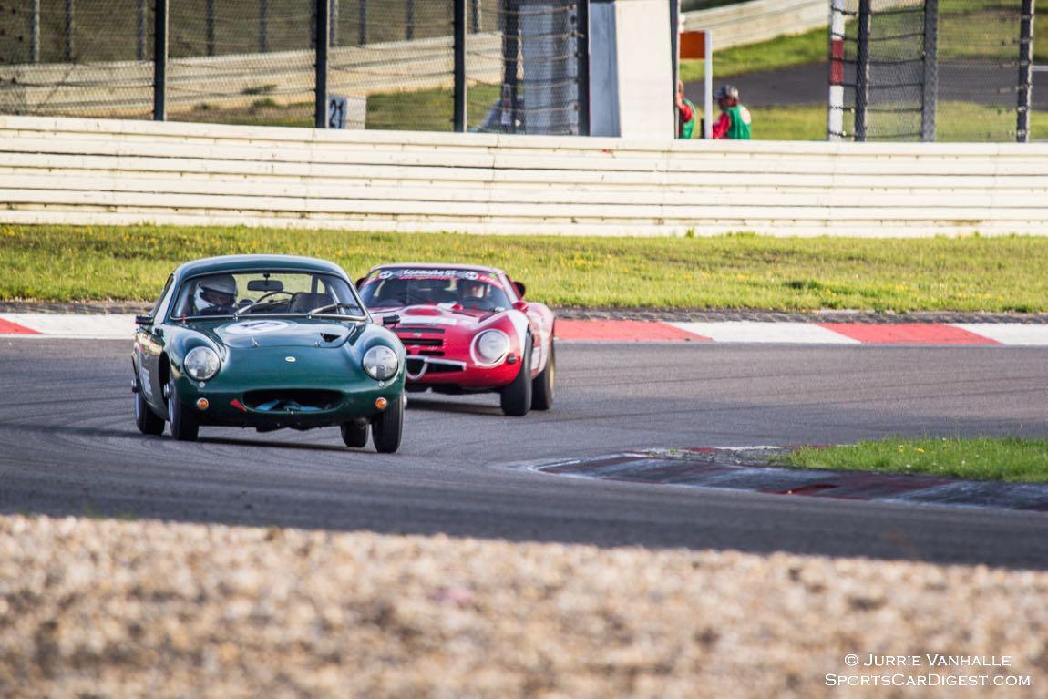 Lotus Elite and Alfa Romeo TZ2