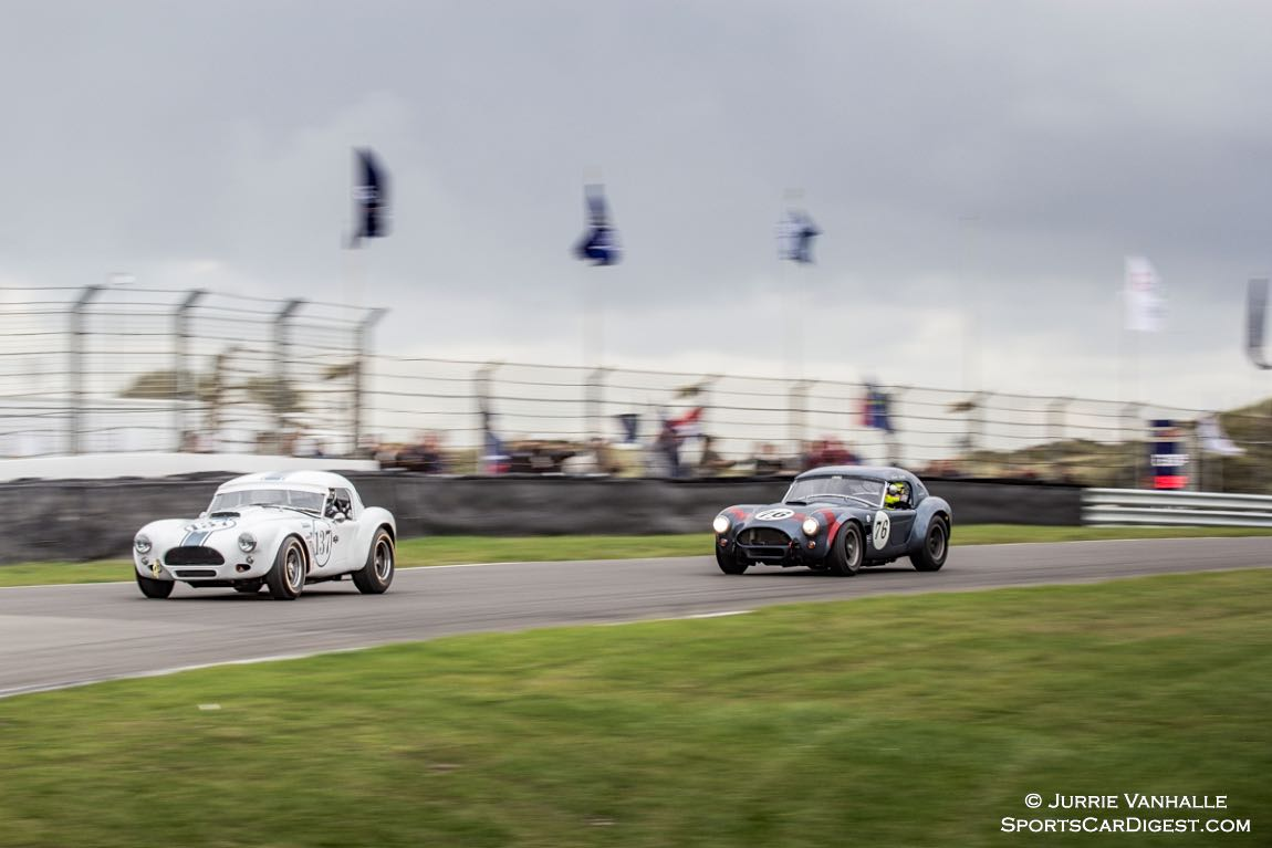 AC Cobra of Rob Hall and AC Cobra of David Hart and Tom Coronel