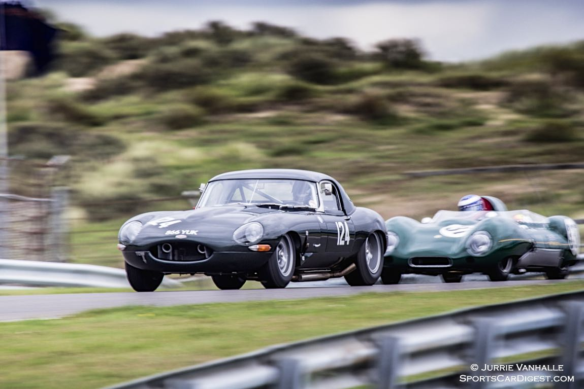 Jaguar E-Type and Lotus Eleven