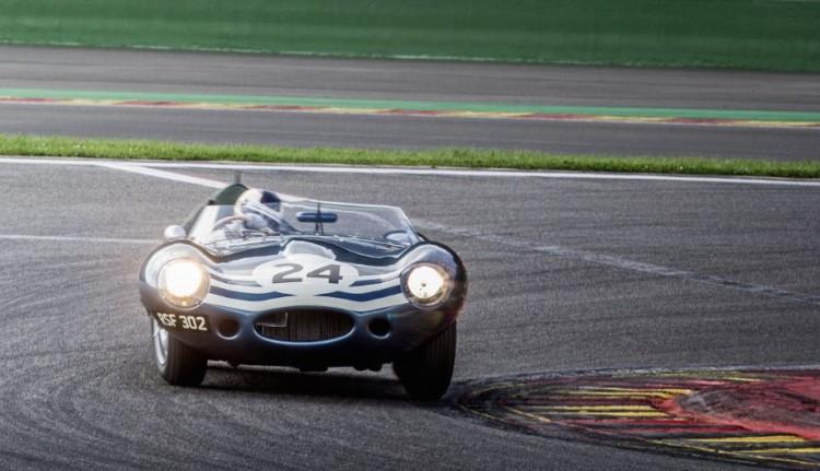 Jaguar D-Type at Spa Six Hours 2014