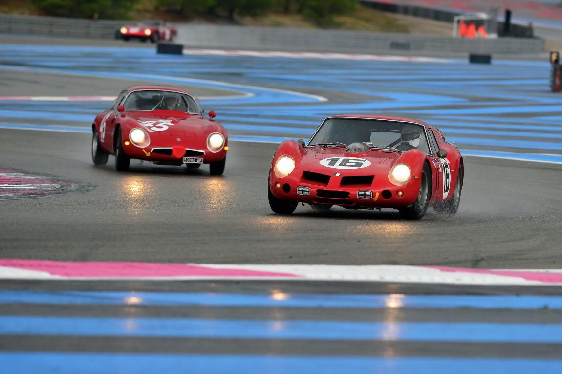 1962 Ferrari 250 GT SWB 'Breadvan' and 1964 Alfa Romeo TZ1