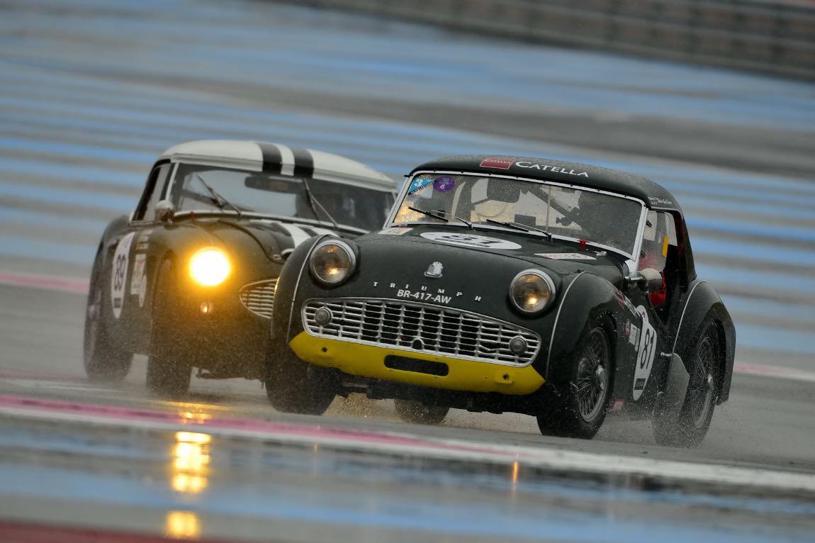 1959 Triumph TR3 and 1959 Austin-Healey 3000 Mk 2