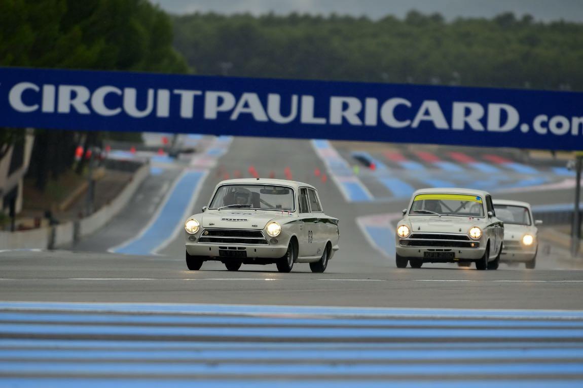 Trio of Ford Lotus Cortinas