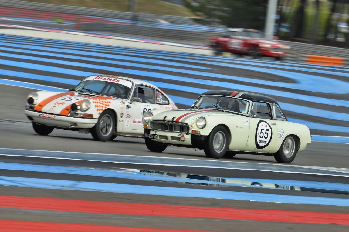 1965 Porsche 911 2.0 and 1963 MG B