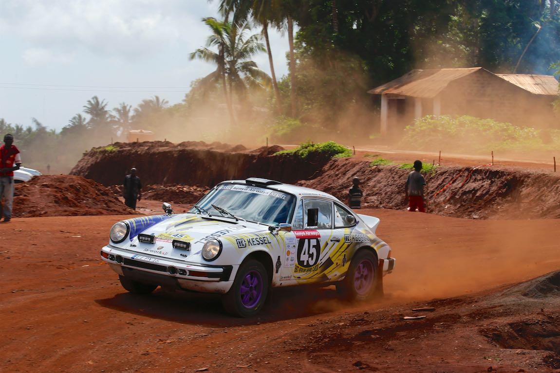 Bernhard Kessel and Ronny Kessel Porsche 911