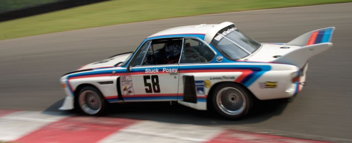 Henry Schmitt - 1974 BMW 3.5 CSL.