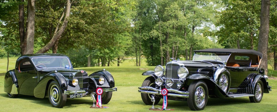 Best of Show Winners at the Concours d'Elegance of America 2015
