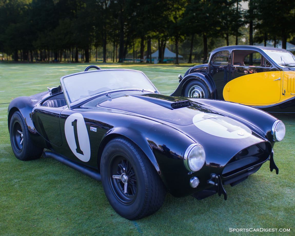 Bruce Meyer's 1962 Shelby Cobra CSX2001, the first production Cobra