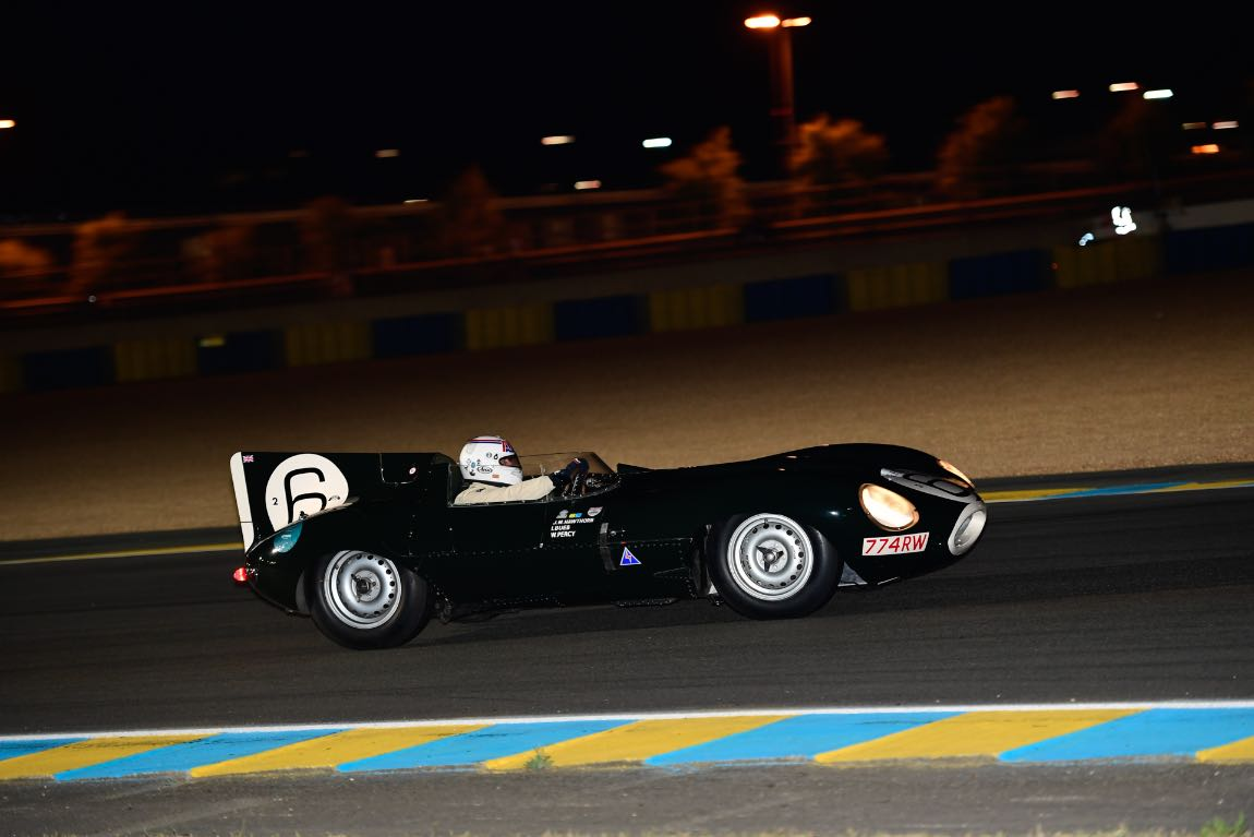 Jaguar D-Type 1955 driven by Andy Wallace