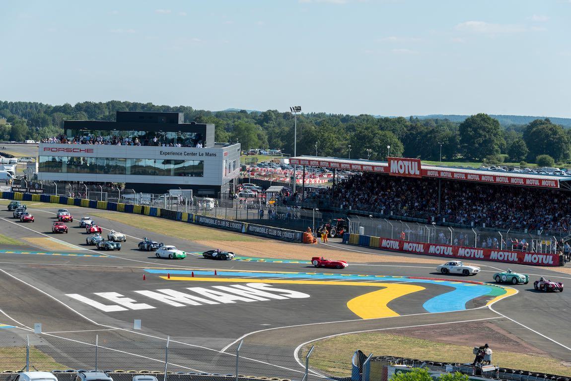 Grid 2 Start - Le Mans Classic 2016