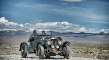 Bentley on Peking to Paris