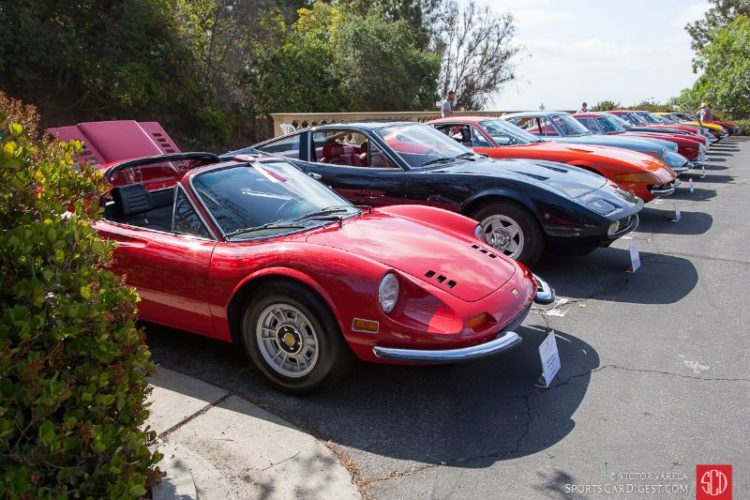 1971 Dino 246 GTS heads the Ferrari line up