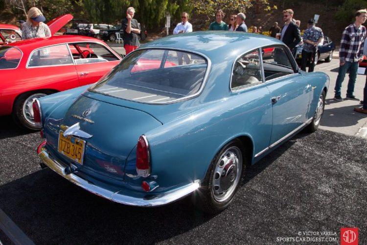 1960 Alfa Romeo Giulietta Sprint Veloce of Fred Stewart