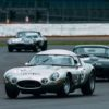 Winning Jaguar E-type Lowdrag Coupe of Julian Thomas and Calum Lockie (photo: Malcolm Griffiths)