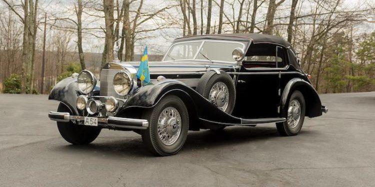 1938 Mercedes Benz 540K Norrmalm Cabriolet