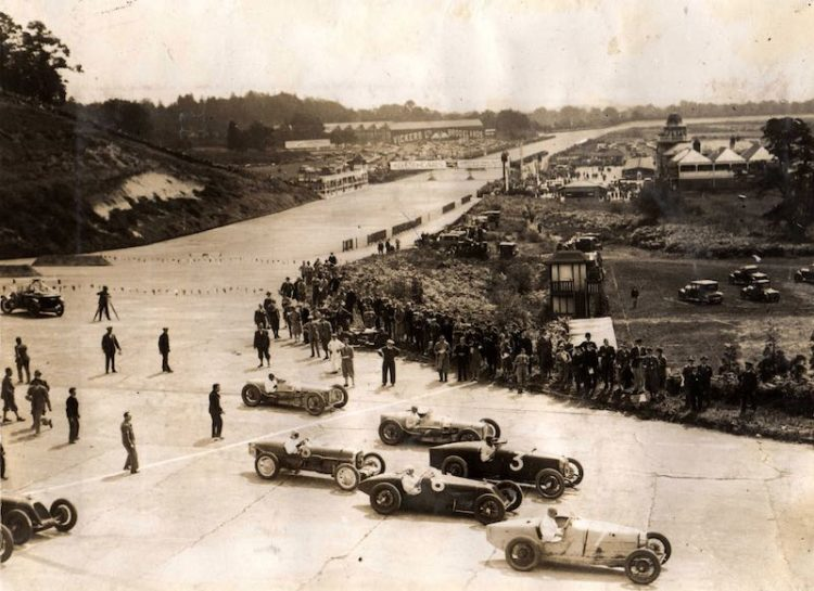 1926 British Grand Prix at Brooklands