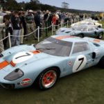 Ford GT40 Winners at 2016 Pebble Beach Concours