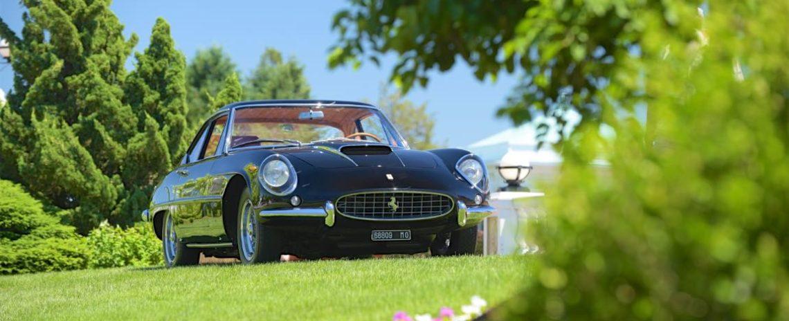 1961 Ferrari 400 Superamerica Coupe by Pinin Farina.
