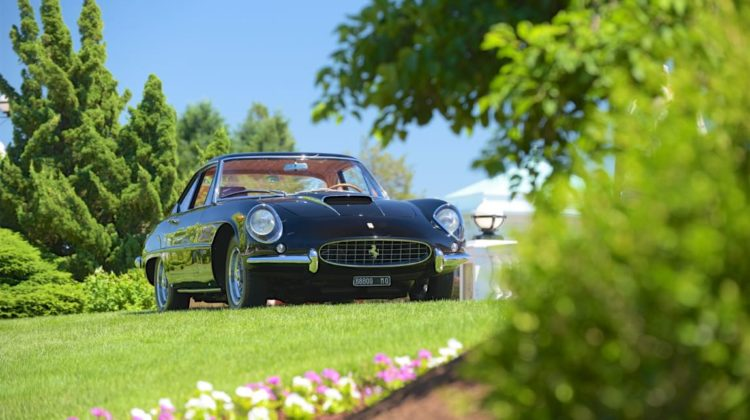 1961 Ferrari 400 Superamerica Coupe by Pinin Farina.