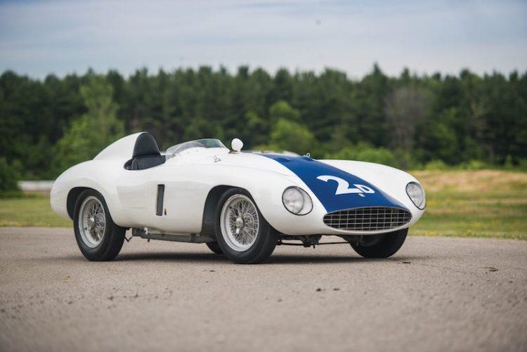 1955 Ferrari 750 Monza Spider, chassis 0510 M (photo: Darin Schnabel)