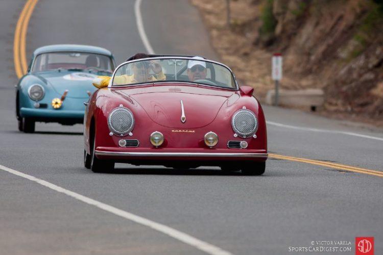 Peter Dunkel in his Porsche Speedster