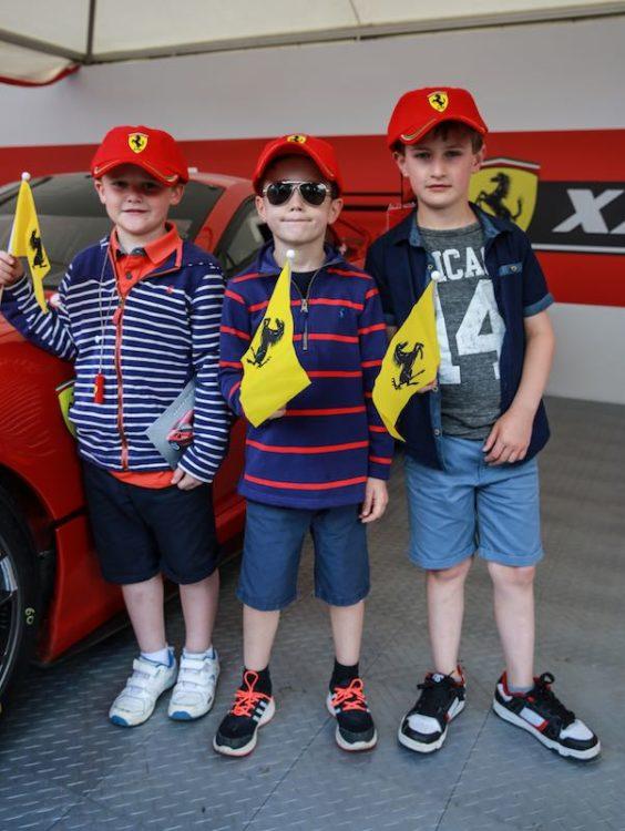 Ferraris at 2016 Goodwood Festival of Speed