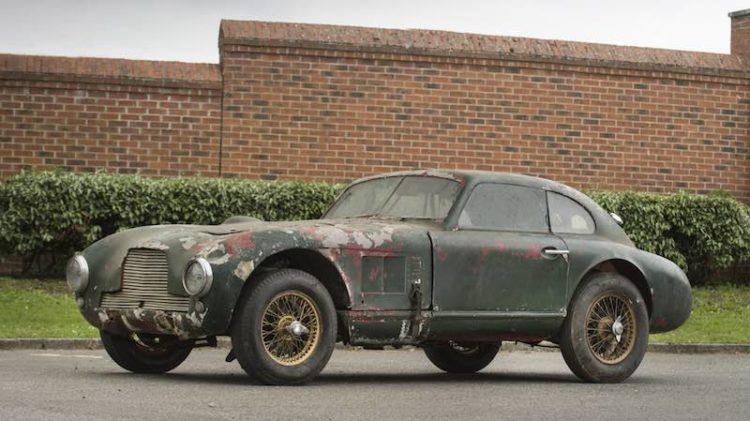 1949 Aston Martin DB Team Car UMC 65 Bonhams Goodwood Festival of Speed 2016