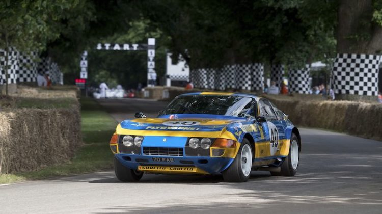 Ferrari 365 GTB/4 Daytona Competizone Goodwood Festival of Speed 2016