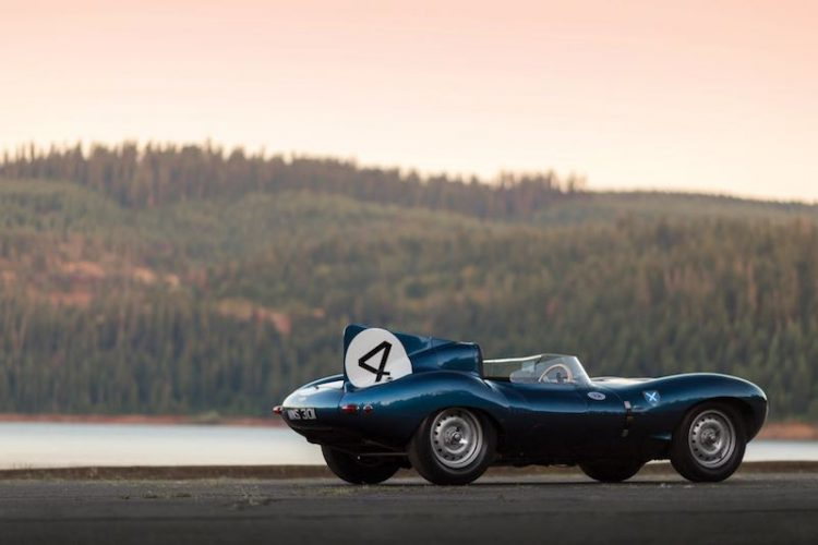 1955 Jaguar D-Type Left Side Rear