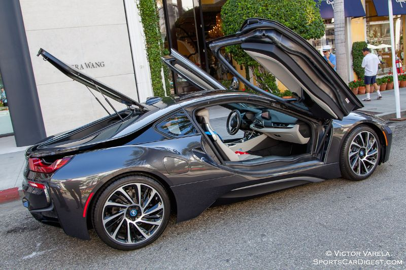 2015 BMW i8 eDrive Hybrid Sports Coupe