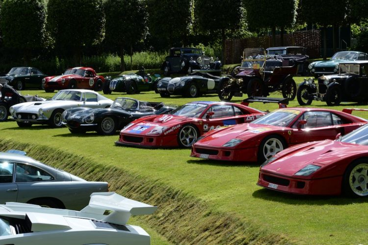 Serious entry list at the 2016 Heveningham Hall Concours d'Elegance (photo: Rufus Owen)