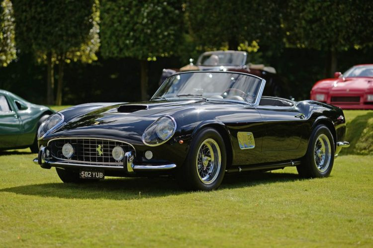 1961 Ferrari 250 GT SWB California Spider (photo: Rufus Owen)
