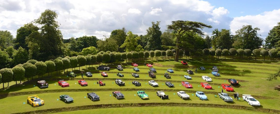 Quality entries at the Heveningham Hall Concours 2016